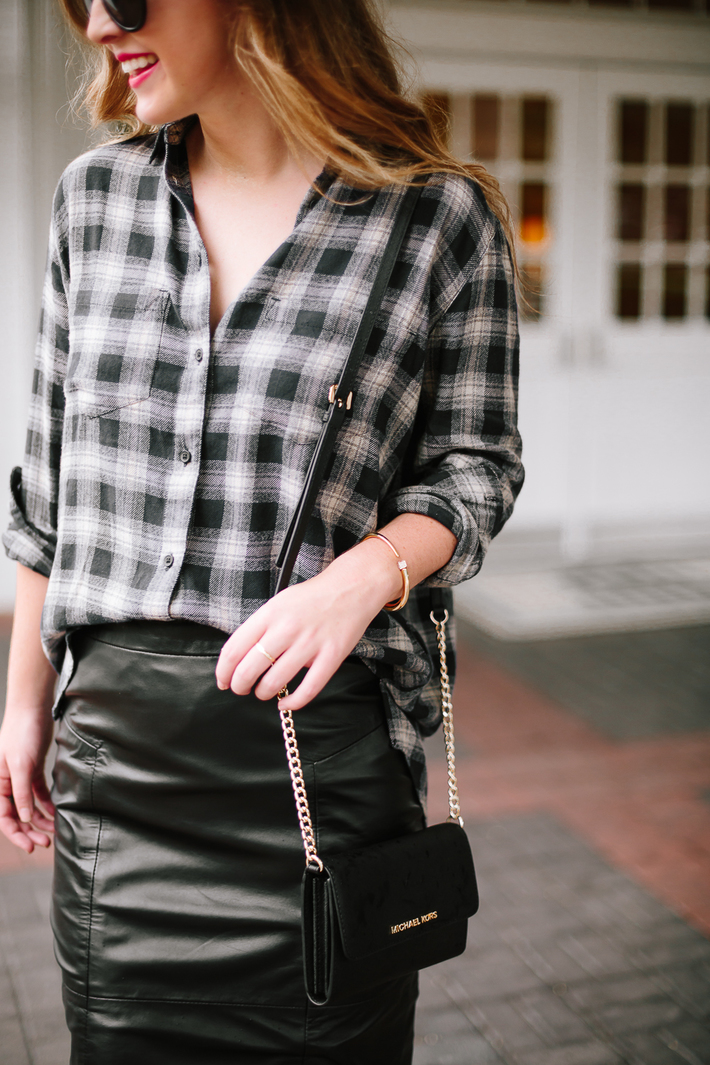 Dallas Blogger Plaid