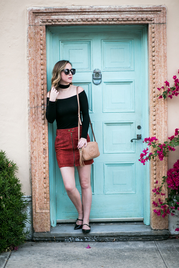 sidesmile-style-sanctuary-suede-skirt-5