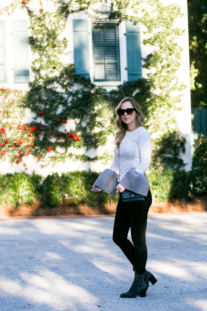 SIDESMILE STYLE BELL SLEEVES IN SEA ISLAND-7