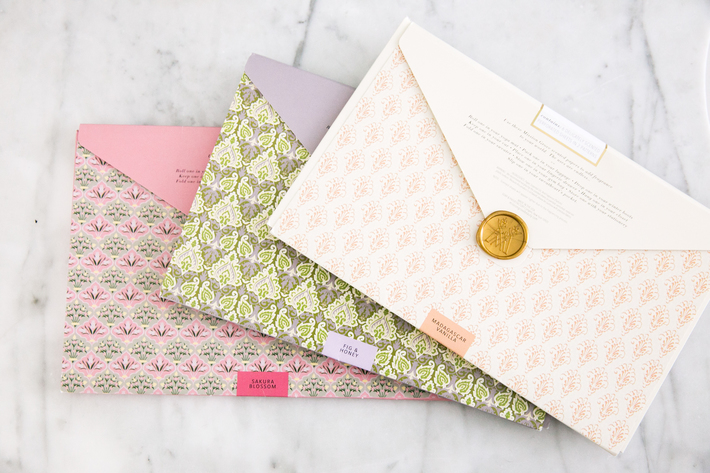 SIDESMILE STYLE SCENTED DRAWER PAPERS
