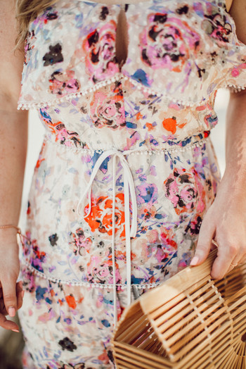 SideSmile Style Floral Maxi Dress-9